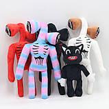 Сиреноголовый мягкая игрушка 40см разноцветные Siren Head (Кодовое название SCP-6791) черного цвета, фото 6