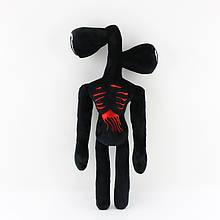 Сиреноголовый мягкая игрушка 40см разноцветные Siren Head (Кодовое название SCP-6791) черного цвета