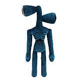 Сиреноголовый мягкая игрушка 40см разноцветные Siren Head (Кодовое название SCP-6791) черного цвета, фото 8