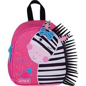 Рюкзак Kite Kids Zebra 150 г 22х20х9 см 3.25 л Розовый (K21-538XXS-1)