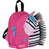 Рюкзак Kite Kids Zebra 150 г 22х20х9 см 3.25 л Розовый (K21-538XXS-1), фото 2
