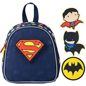 Рюкзак Kite Kids DC comics 150 г 22х20х9 см 3.25 л Темно-синий (DC21-538XXS)