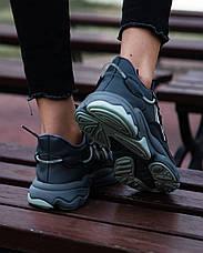 Жіночі кросівки Adidas Ozweego Grey Reflective EE5718, фото 3