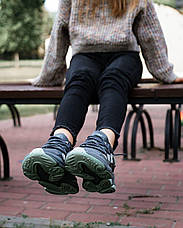 Жіночі кросівки Adidas Ozweego Grey Reflective EE5718, фото 2