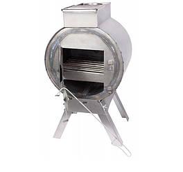 Буржуйка печь с трубами сталь Силумин БРЖтр