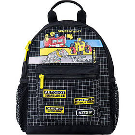 Рюкзак Kite Kids Transformers 210 г 30x22x10 см 7.35 л Черно-желтый (TF21-534XS)