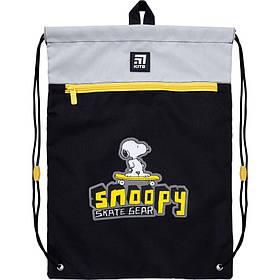 Сумка для обуви с карманом Kite Education Snoopy 46x33 см (SN21-601M-1)