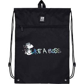 Сумка для обуви с карманом Kite Education Snoopy 46x33 см (SN21-601M-2)