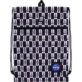 Сумка для обуви с карманом Kite Education NASA 49x36 см (NS21-601L-1)