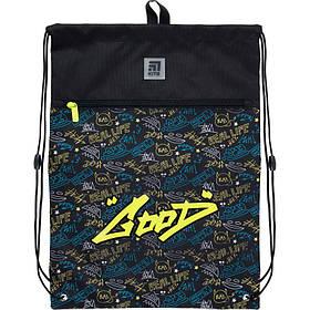 Сумка для обуви с карманом Kite Education Be sound 49x36 см (K21-601L-23)