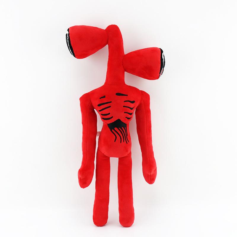 Сиреноголовый мягкая игрушка 40см разноцветные Siren Head (Кодовое название SCP-6793) красного цвета