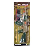 Автомат, присоски, мишень, на листе + код MMT-558-30