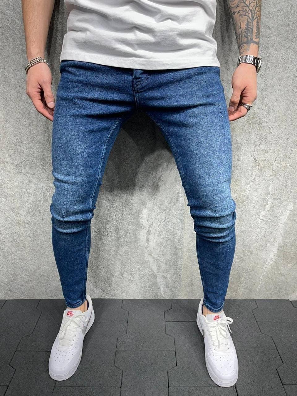 Чоловічі джинси 2Y Premium 6068 blue