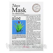 Ariul, 7 Days Beauty Mask маска з алое, 1 шт., 20 м (0,7 унції)