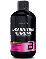 Жиросжигатель BioTech USA L-Carnitine 35.000 + Chrome liquid 500мл, апельсин