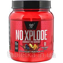 BSN, N. O.-Xplode, легендарне предтренировочное засіб, фруктовий пунш, 2,45 фунта (1,11 кг)