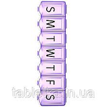 Apex, 7-денний органайзер для таблеток Ultra Bubble-Lok, XL, 1 таблетница