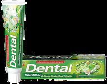 Зубна паста Dental (Болгарія) Натуральне відбілювання та захист 7 трав 100мл