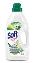 Рідкий засіб для прання SOFT Алоє Вера 32 прання 2,5 л шт