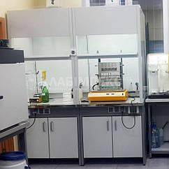 Шкаф вытяжной лабораторный ШВЛ-02 для летучих агрессивных реагентов