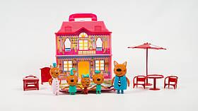 Набор героев Три кота Домик 8806