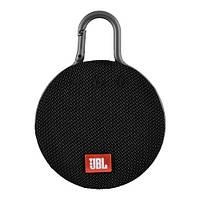 Bluetooth-колонка JBL CLIP3, c функцией speakerphone, радио, black, фото 1