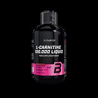 Жиросжигатель BioTech USA L-Carnitine 100.000 liquid 500мл, яблоко