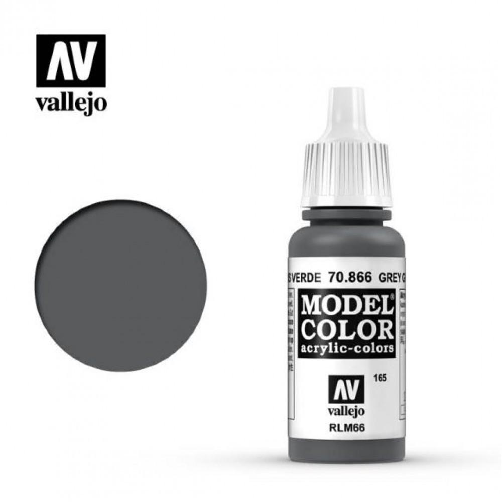 Vallejo Model Color Grey Green