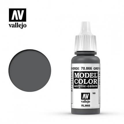 Vallejo Model Color Grey Green, фото 2