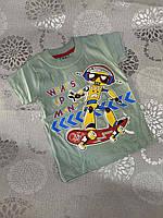Дитяча трикотажна футболка для хлопчика Wnat's Up Man 1-4 роки, колір уточнюйте при замовленні, фото 1