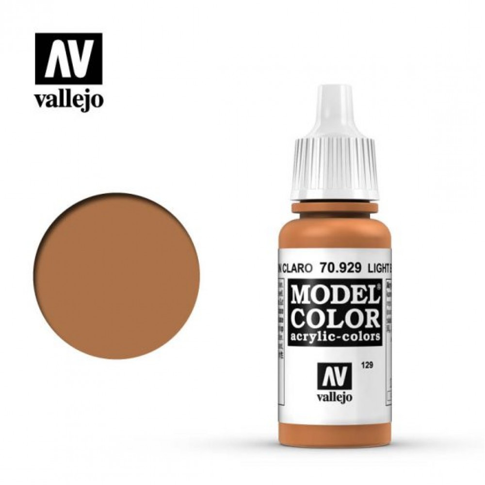 Vallejo Model Color Light Brown