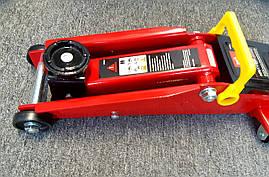 Домкрат гидравлический 3 т 3т 135-410 мм подкатной TORIN T830020