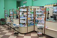 Витрины аптечные