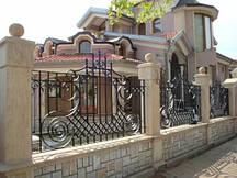 Ковано зварні паркани