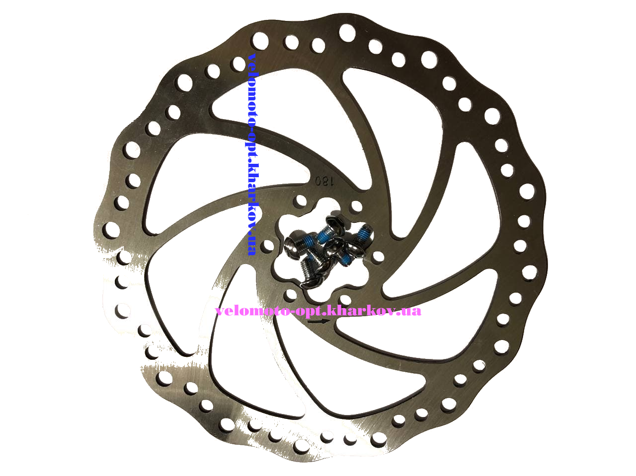 Гальмівний ротор 180мм дискового гальма, SHUNFING