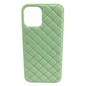 Чехол накладка xCase для iPhone 11 Quilted Leather case Mint
