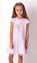Літнє плаття для дівчинки з фатином Mevis Лілове р. 92, 98, 104, 110, 116