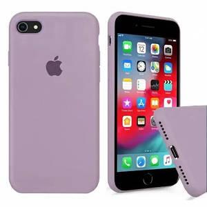 Чехол накладка xCase для iPhone 6/6s Silicone Case Full lilac pride