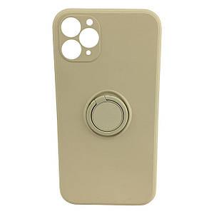 Чохол xCase для iPhone 11 Pro Silicone Case Full Camera Stone Ring