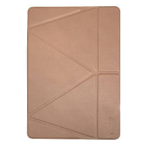 """Чохол Origami Case для iPad Pro 9,7""""/ 9,7"""" (2017/2018)/ Air/ Air2 leather embossing rose gold"""