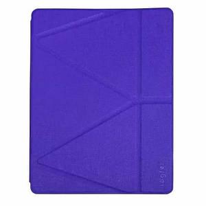 "Чехол Origami Case для iPad Pro 12,9"" (2018/2019) Leather embossing purple"