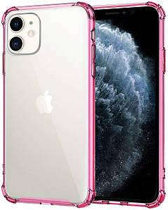Чехол накладка для iPhone 11 Simple Pure Angle Pink