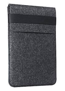 "Папка-конверт з повсті для MacBook 13.3"" Dark gray (GM16/71)"