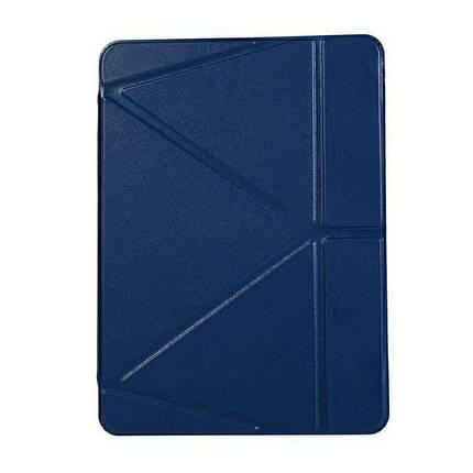 "Чохол Origami Case для iPad Pro 12,9"" (2018/2019) Leather embossing dark blue, фото 2"