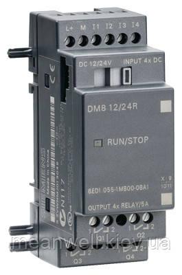 6ED1055-1MB00-0BA1 LOGO! DM8 12/24R Дискретный модуль расширения LOGO!