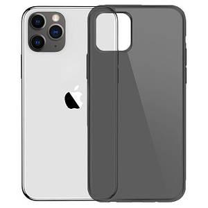 Чохол накладка для iPhone 11 Pro Simple Transparent Black Silicone
