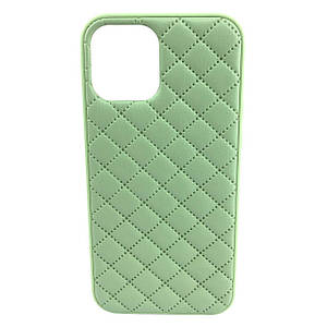 Чохол накладка xCase для iPhone 11 Pro Quilted Leather case Mint
