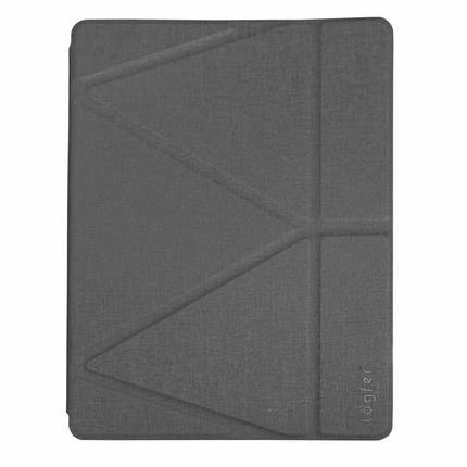 "Чохол Origami Case для iPad Pro 9,7""/ 9,7"" (2017/2018)/ Air/ Air2 leather gray, фото 2"