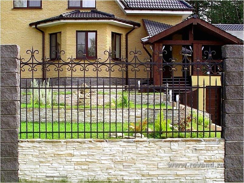 Ковка забор ворота
