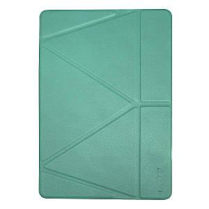 "Чехол Origami Case для iPad Pro 12,9"" (2018/2019) Leather embossing green"
